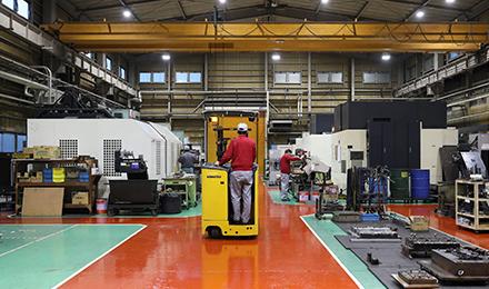 福島工場 工場内観